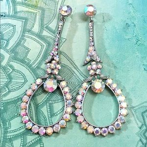 Swarovski AB Crystal Event Occasion Earrings